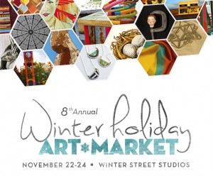 Winter Holiday Art Market Flier